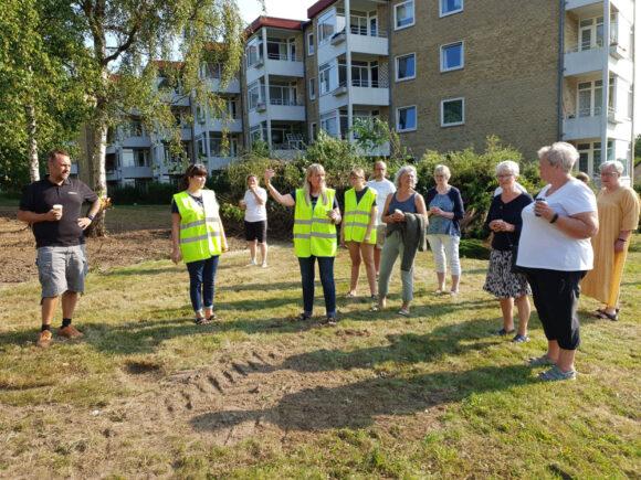 Pia Stabell Hjort fortæller om projektet.