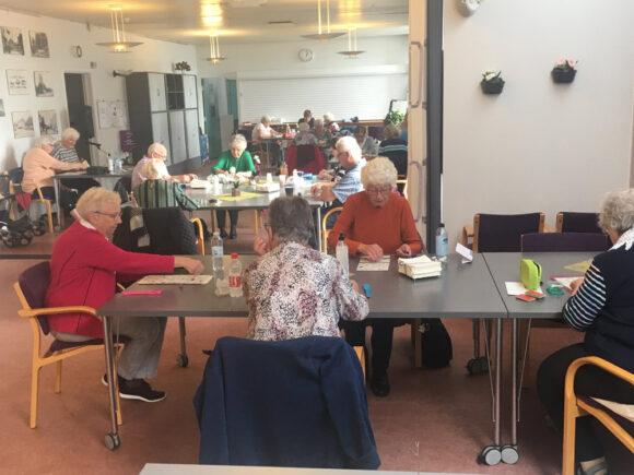 Banko er populært i SGS Pensionistklubben.