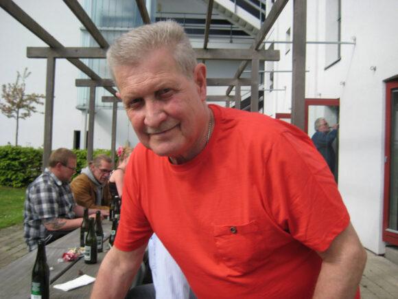 Mogens ved sin afskedsreception i 2013.