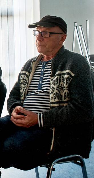 Poul Erik Nielsen var en stor kapacitet i afdelingens beboerdemokrati.