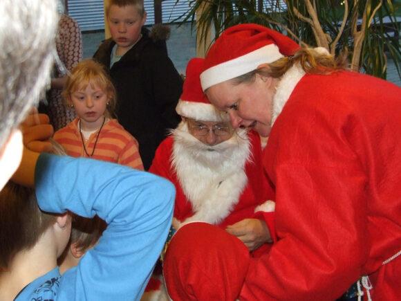 Arkivfoto fra julearrangement i Brabrand Boligforening