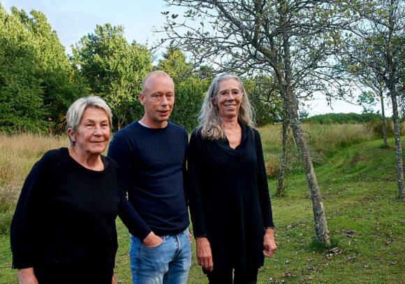 Grethe Abild Jensen, Dennis Laursen og Annie Mougaard er den nye bestyrelse.
