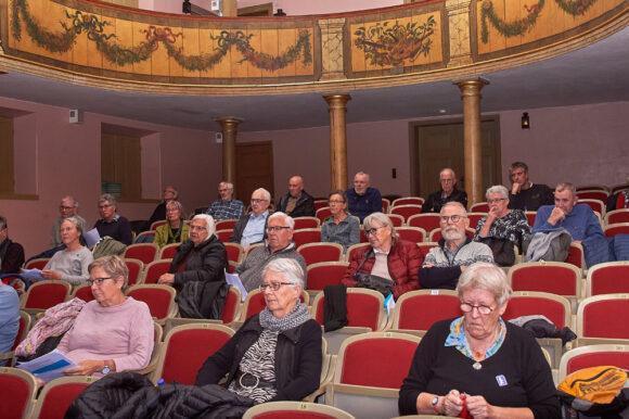 Helsingør Theater i  Den Gamle By var utraditionel ramme om beboermødet